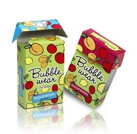 Bubble Wear - Flat Cardboard Packaging